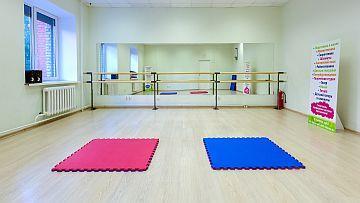 Фото 3: в зале установлен балетный станок