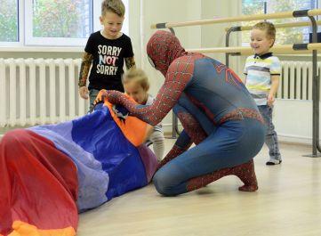 Фото 4 детский день рождения + человек-паук