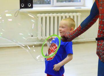 Фото 3 детский день рождения + мыльное шоу