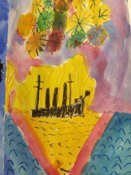 рисунок Игорь 7 лет
