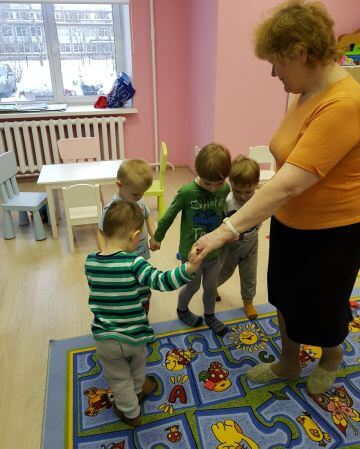 Физкультура с малышами