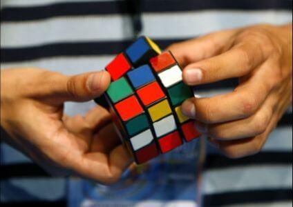 Упражнения по сборке кубика: Рубика