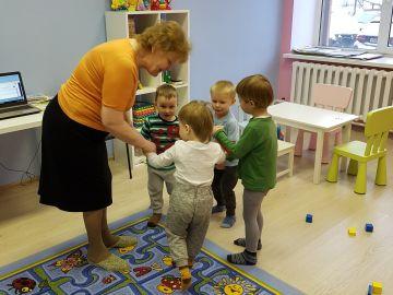 Занятия в мини-саду