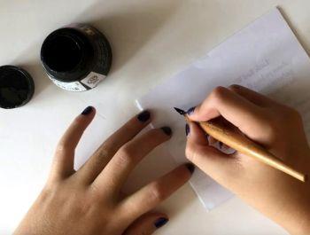 Чистописание, красивое письмо
